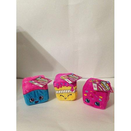 Shopkins Scented Cuddle Cubes Set Of 3 Snow CrushWishes DLish Donut