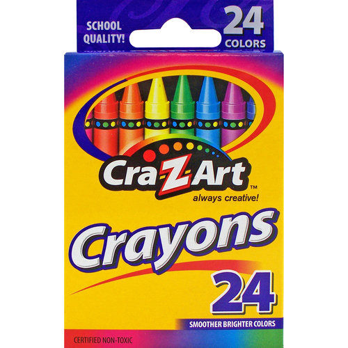 Cra-Z-Art Crayons, 24ct
