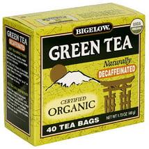 Tea Bags: Bigelow Organic Green Tea