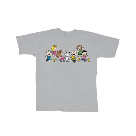 Snoopy & Peanuts Gang Celebrate Every Day Happy Dancing T-Shirt - Peanuts Gang Characters