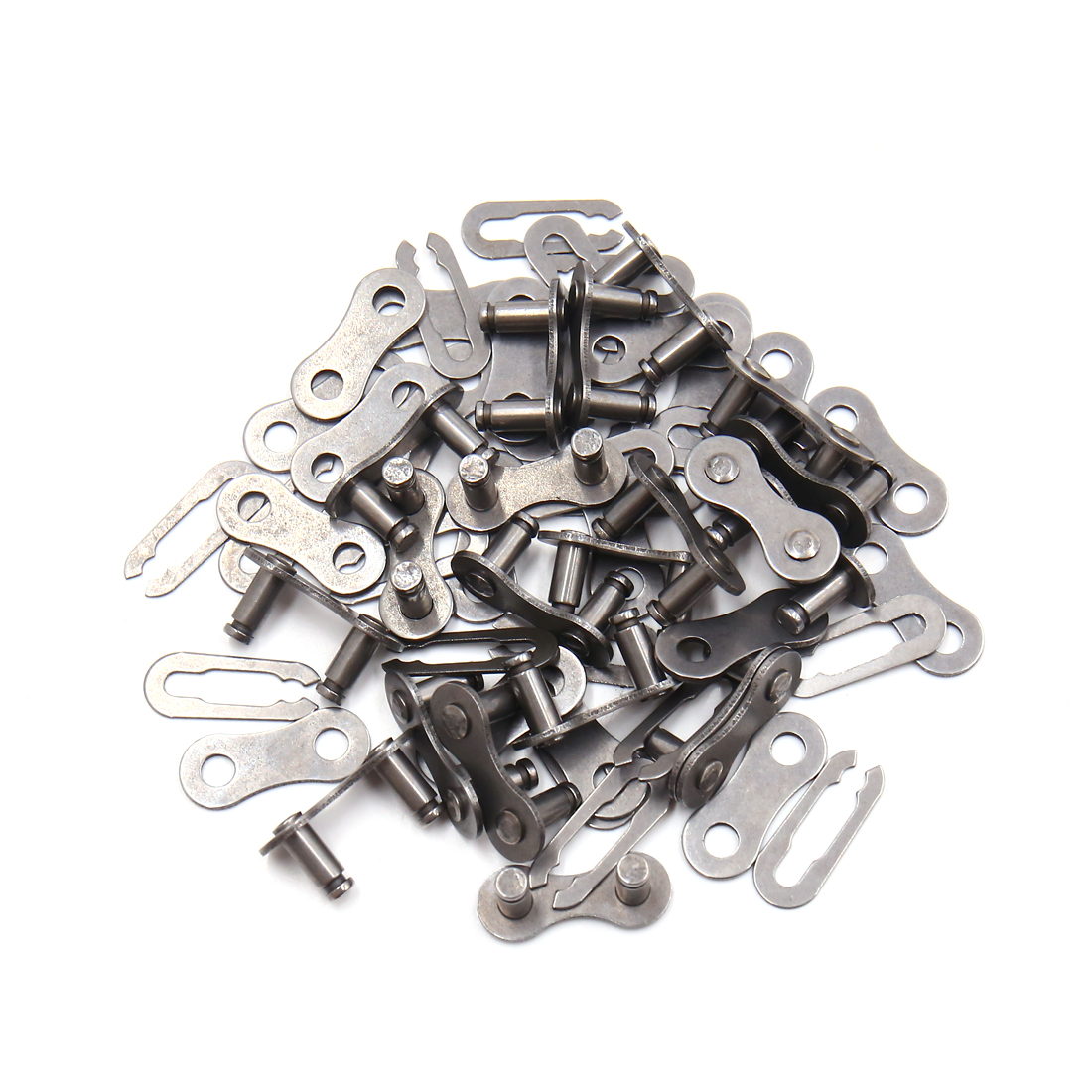 20Pcs Metal Chain Master Link Joint Clips Connectors for MTB Bike Bicycle