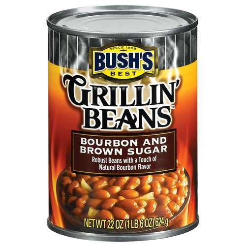 Bushs Best Bourbon And Brown Sugar Grillin Beans, 22 oz