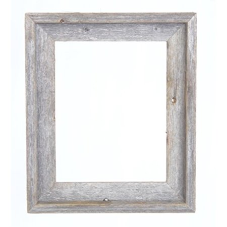 BarnwoodUSA Rustic Farmhouse Open Signature Picture Frame - Our 8x10 Open Picture Frame can be used DIY projects | Crafted From 100% Recycled Reclaimed Wood | No Assembly Required