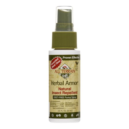 All Terrain Natural Herbal Armor Insect Repellent Spray - 2 Oz - Herbal Armor Insect Repellant