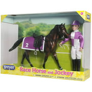 Breyer Classics Race Horse and Jockey Set by Reeves
