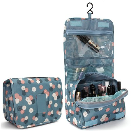Asewin Hanging Toiletry Bag-Portable Travel Organizer Cosmetic Make up Bag case for Women Men Shaving Kit with Hanging Hook for (Travel Cosmetic)