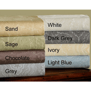 8 Colors- 600 Thread Count Cotton Rich Italian Paisley Sheet Sets