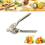 New Kitchen Bar Stainless Steel Lemon Orange Lime Squeezer Juicer Press Tool