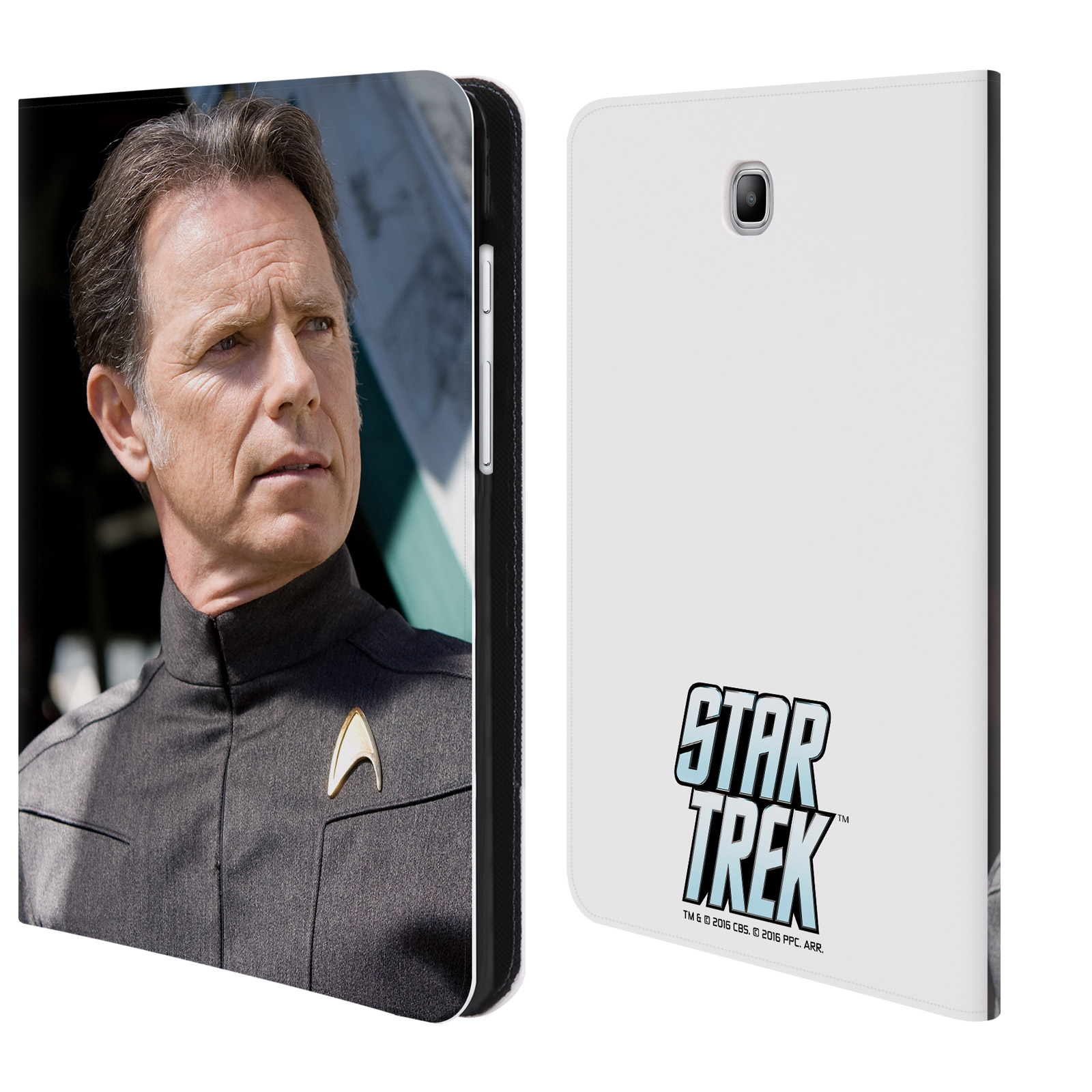 OFFICIAL STAR TREK MOVIE STILLS REBOOT XI LEATHER BOOK WALLET CASE COVER FOR SAMSUNG GALAXY TABLETS