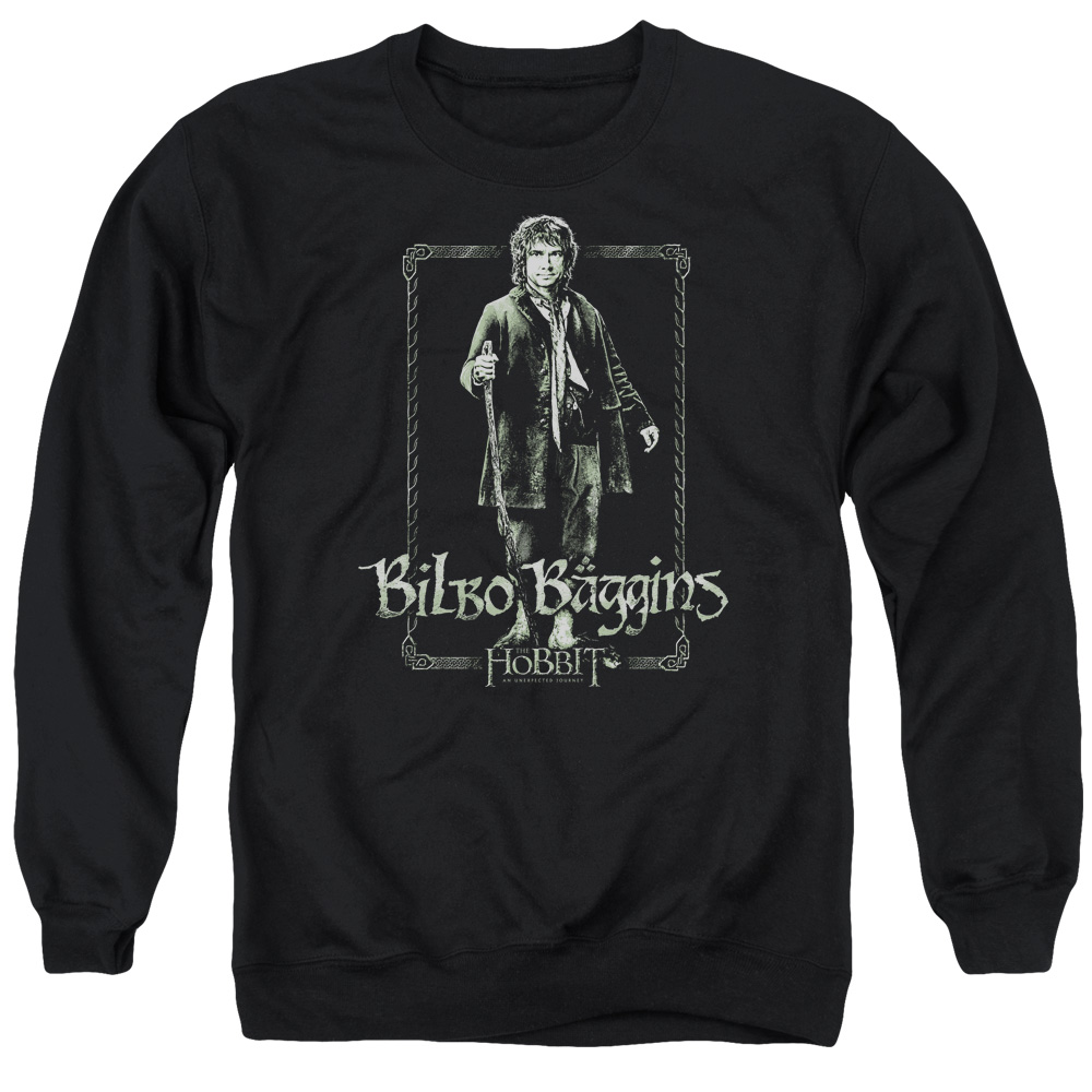 The Hobbit Bilbo Stare Mens Crewneck Sweatshirt