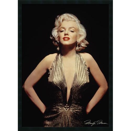 Amanti Art Marilyn Monroe (Gold) Framed Photographic Print