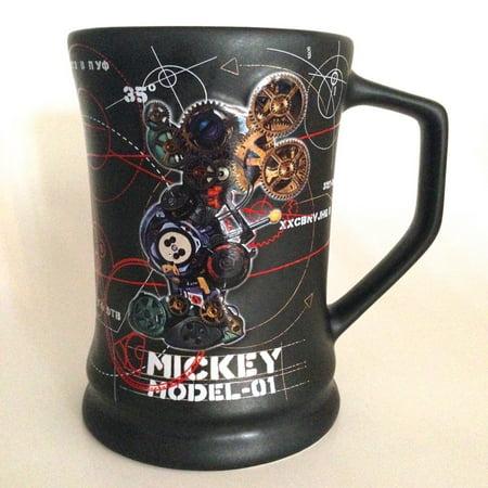 Disney Park Mickey Mouse Robot Model Large Ceramic Mug New By Disney Parks