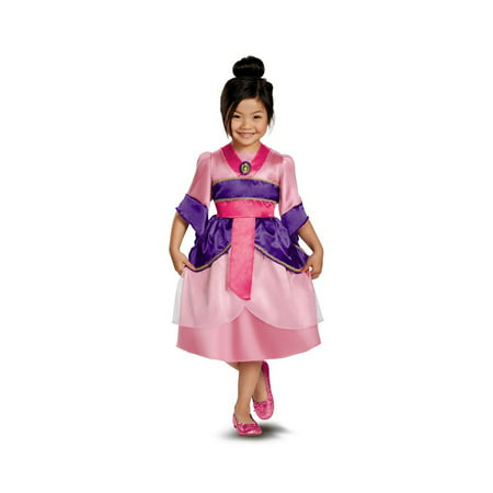 Mulan Sparkle Disney Girls Costume](Mulan Kids Costume)