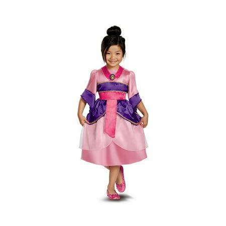 Mulan Sparkle Disney Girls Costume](Mulan Disney Costume)