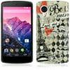 Mundaze LG Google Nexus 5 TPU Paris Amour Eiffel Tower Phone Case