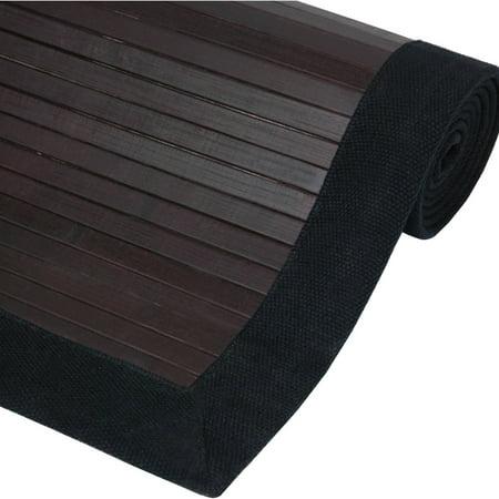Bamboo Rug, Mocha