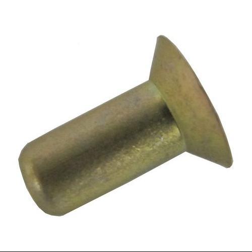 26AD0608-EA-100 Rivet, Countersunk, 3/16 Dia, 1/2 L, Pk 100