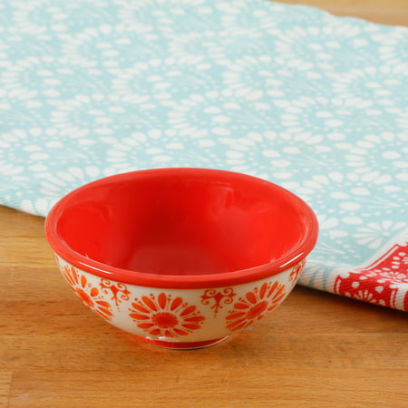 "The Pioneer Woman 3.12"" Floral Print Dip Bowl"