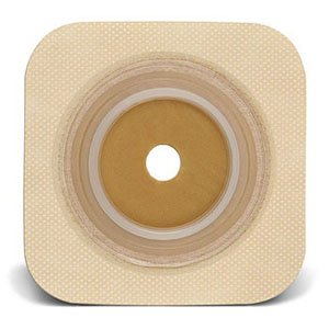 Tan Flexible Wafer Box (Sur-fit Natura Stomahesive Cut-to-fit Flexible Wafer 5 x 5 Flange 2-3/4 Tan )