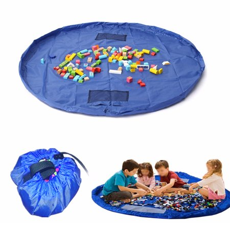 On Clearance Large 59inch Baby Infant Activity Gym Play Mat Floor Play Mat In Portable Shoulder Bag Toddlers Kids Toy Storage Organizer Net - image 10 of 10