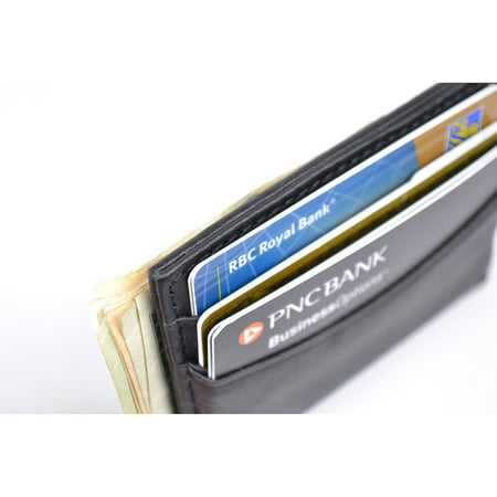 Royce Leather Magnetic Money Clip Wallet in Genuine Leather