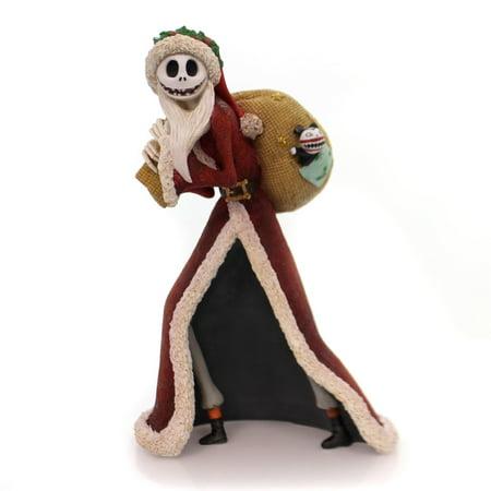 Disney Showcase Couture De Force by Enesco Santa Jack Skellington Figurine