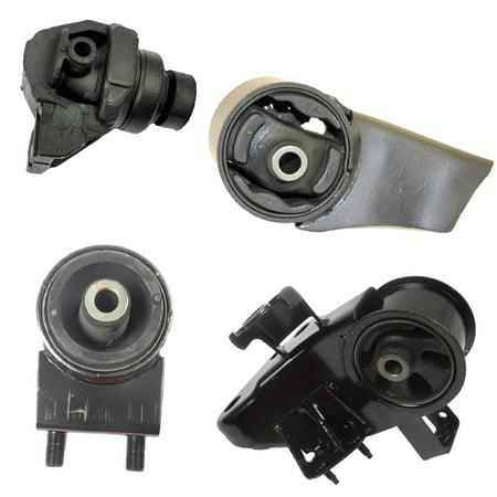 CF Advance For 93-97 01 Mazda 626 2.0L FWD Manual Engine Motor and Transmission Mount Set 4pcs 1993 1994 1995 1996 1997 2001 6457 6460 6446 6462 1997 Mazda 626 Transmission