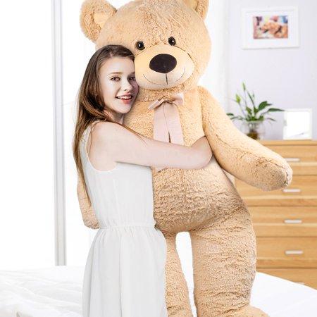 5.3 Feet Giant Teddy Bear, Soft Large Stuffed Animal Plush Toy, Birthday Gifts for Kids, - Birthday Stuff
