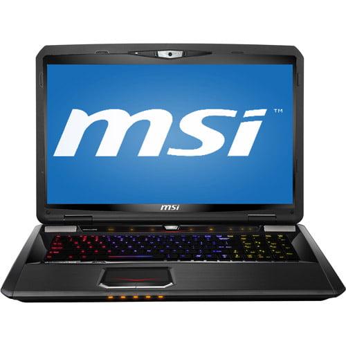 "MSI Black 17.3"" GT70 0NE-452US Laptop PC with Intel Core i7-3630QM Processor and Windows 8"