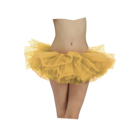 Gold Adult Tutu Halloween - Solid Gold Costume