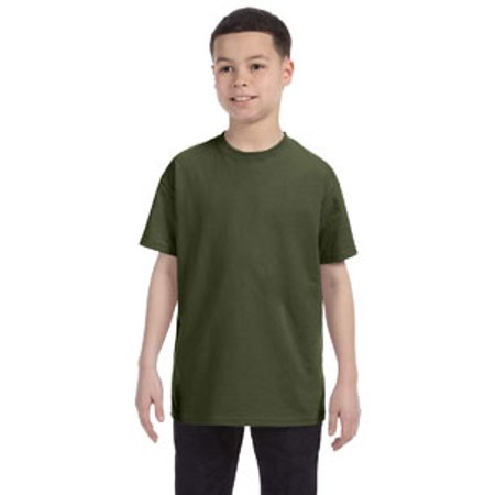 Jerzees Youth 5.6 oz. DRI-POWER® ACTIVE T-Shirt (Jade Khaki)
