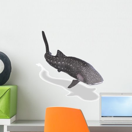 Whale Shark Wall Decal by Wallmonkeys Peel and Stick Graphic (18 in H x 18 in W) WM28697 (Shrek Wall Decals)