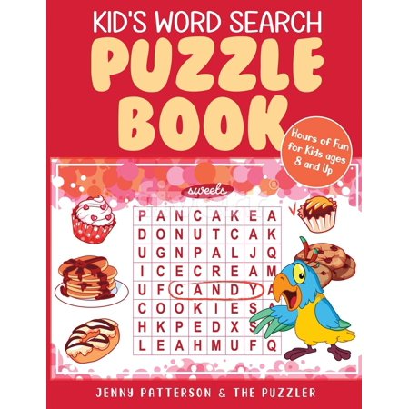 Kid's Word Search Puzzle Book: Fun Puzzles for Kids Ages 8 and Up (Paperback) - Site Word Bingo