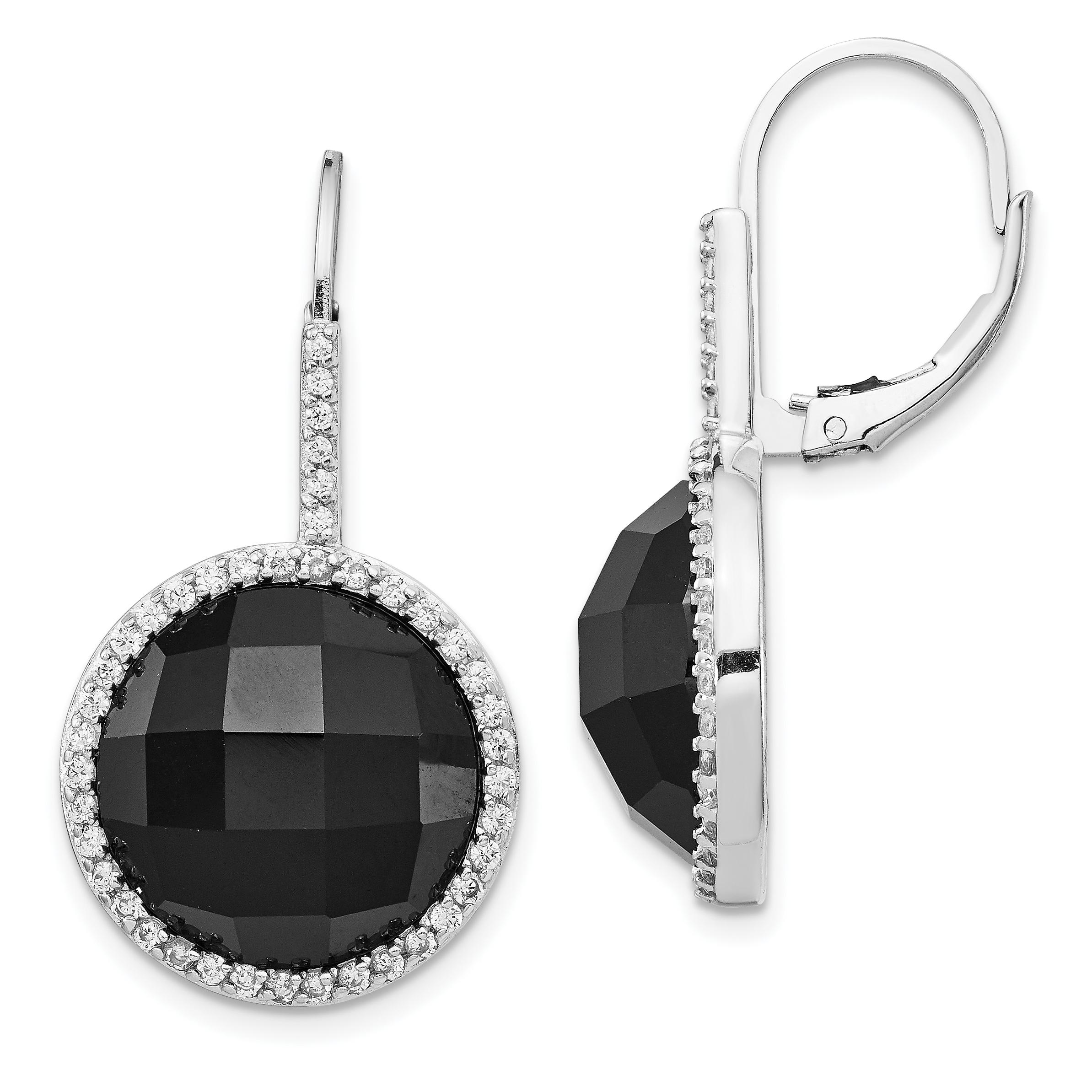 3D Fancy Twisted Greek Key Motif Dangle Drop Earrings Solid 925 Sterling Silver