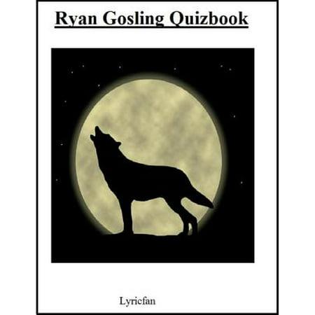 Ryan Gosling Quizbook - eBook