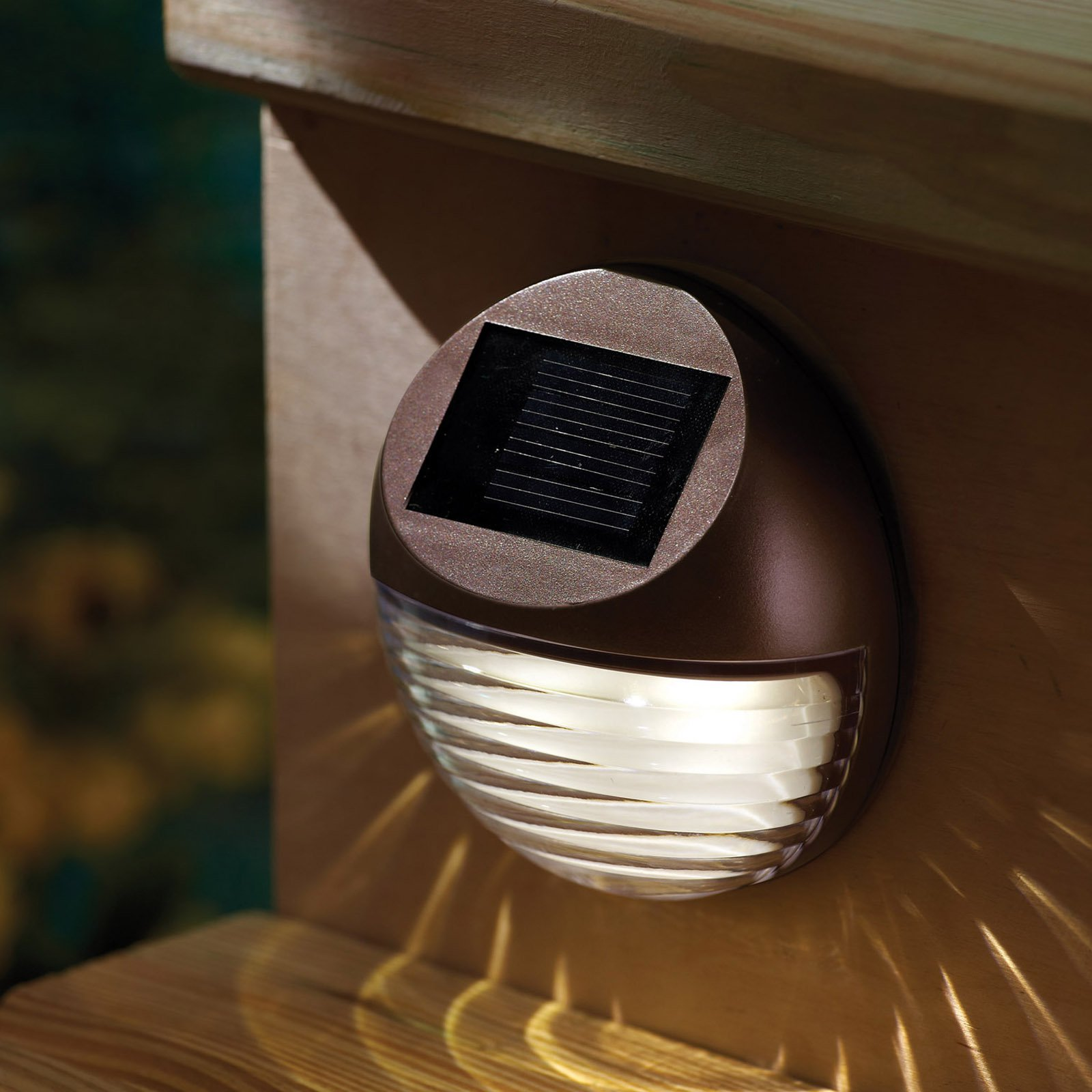 Captivating MOONRAYS 95027 LED Mini Deck Light,Outdoor,Solar G9972033   Walmart.com Part 27