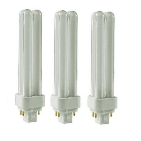 3 Pack, LSE Lighting Bulbs for Panasonic FDS18E35/4 18W Quad-Tube 3500K Base 3500k Quad Tube