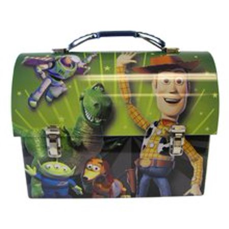 Jessie And Woody From Toy Story (Toy Story Woody Buzz Jessie Dome Carry-All Workmans Tin -)
