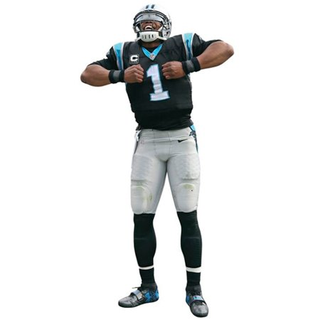 Cam Newton Carolina Panthers Fathead Superman Life Size Removable Wall Decal - No - Giants Logo Fathead Wall