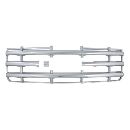 Bully Gi-42 Triple Chrome Plated Abs Snap-In Imposter Grille Overlay, 1 Piece