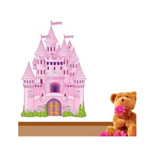 Style and Apply Fairy Tale Castle Wall Decal