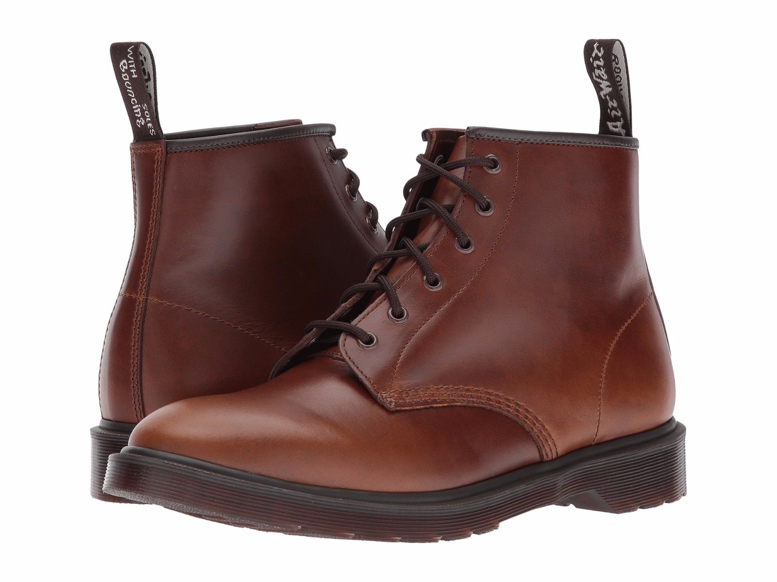 Dr. Martens 101 Brando Men's Shoes 6 Eyelet Boot 22698241 Smoke Thorn by Dr. Martens