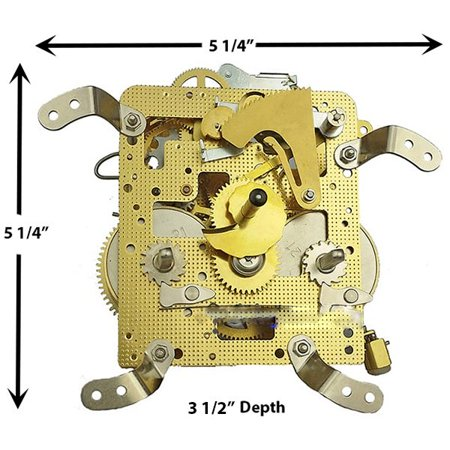 NEW 140-010 Clock Movement by -