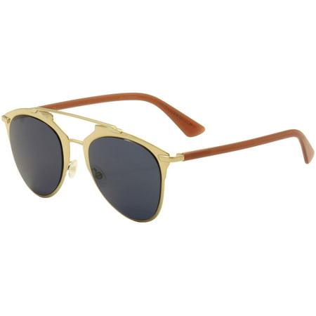 Christian Dior Women's DiorReflected TUZ/KU Gold/Brick Fashion Sunglasses (Dior Gaucho 2 Sunglasses)