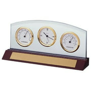 Weston Desktop Clock by Bulova