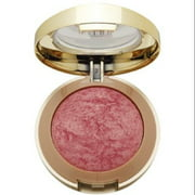Milani Baked Powder Blush, Dolce Pink [01] 0.12 oz (Pack of 2)