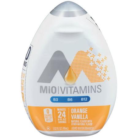 MiO Orange Vanilla Liquid Water Enhancer , Caffeine Free, 1.62 fl oz Bottle