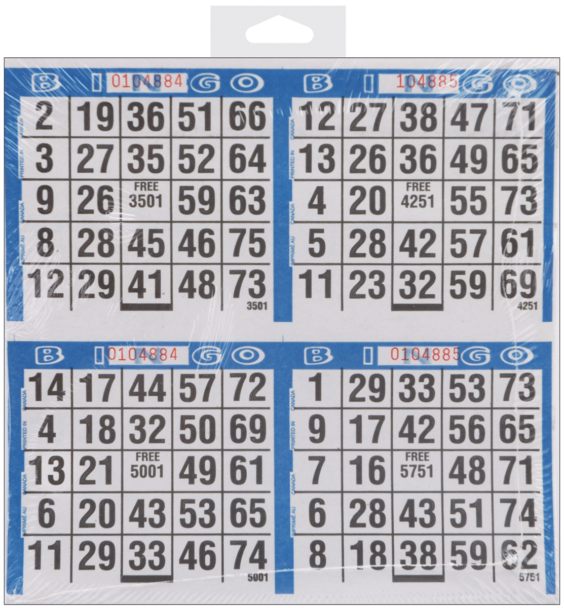 dabn stic bingo game sheets 8 x 8