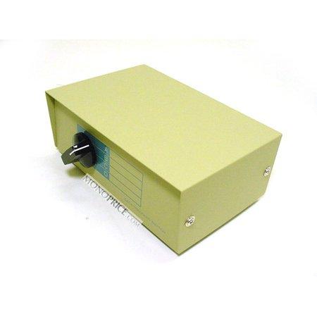 Monoprice 4x1 DB9 Female Manual Data Switch Box