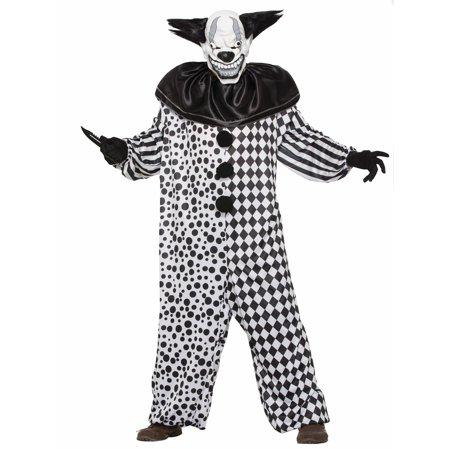 Men's Evil Al The Clown Costume
